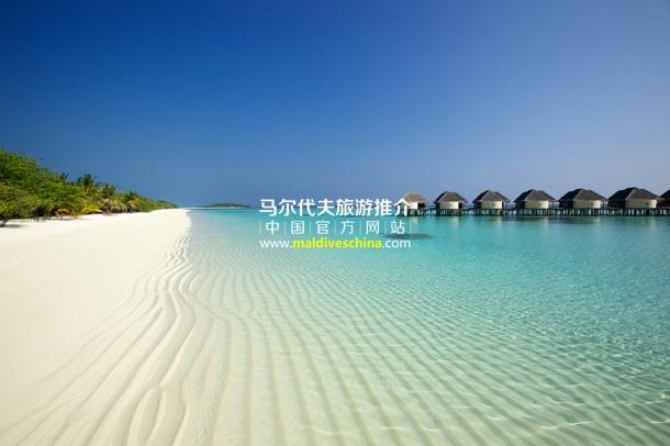 卡努呼拉岛(Kanuhura Maldives)纯白沙滩