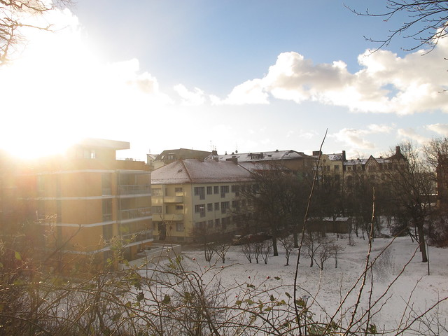 the first snow, helsingborg