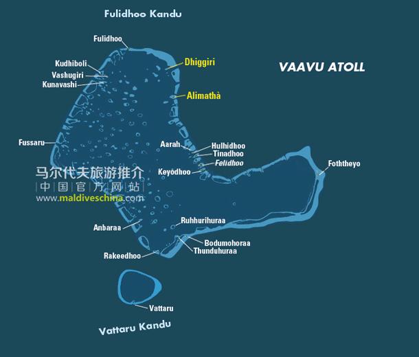 马尔代夫Vaavu环礁