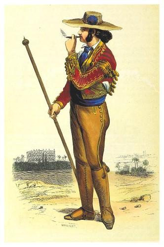 009-Jinete de rejoneo-La Spagna, opera storica, artistica, pittoresca e monumentale..1850-51- British Library