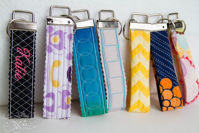 Quilted Keyfobs ITH