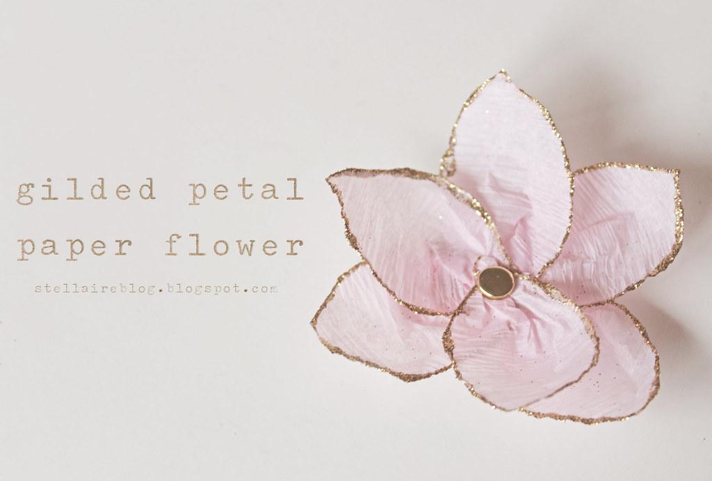gilded petal flower