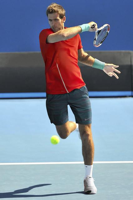 Juan Martin Del  Potro Australian Open outfit