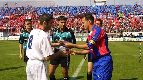 Beppe Baronchelli, capitano senza paura di quel Catania...