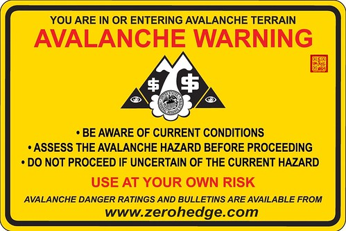 AVALANCHE WARNING by WilliamBanzai7/Colonel Flick