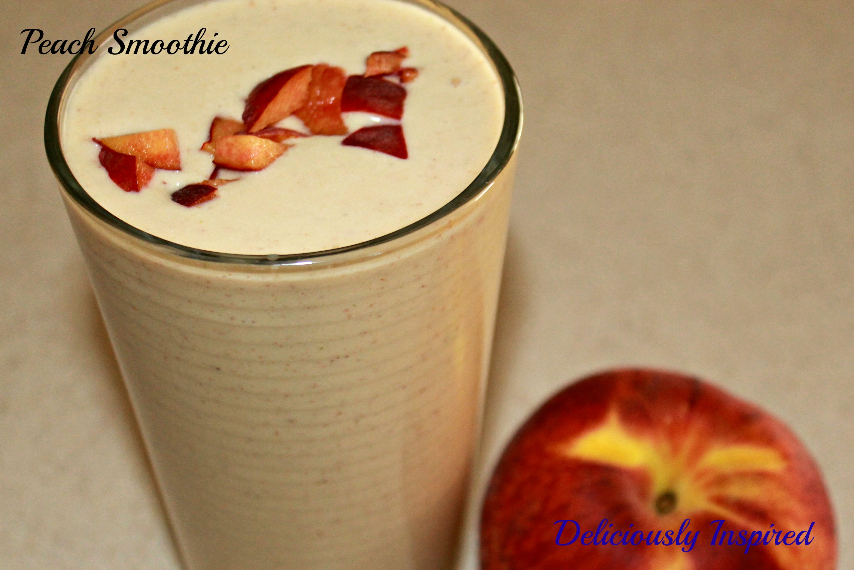Peachy Smoothie