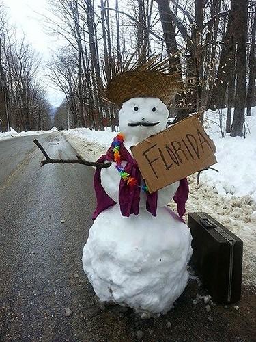 florida snowman Christian