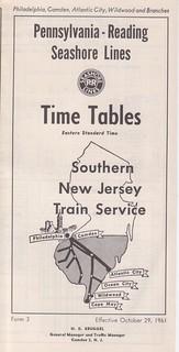 PR Seashore Lines 1961 Cover