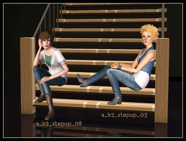 Step Up - Poses 03+08