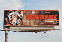 Billboard for the The Great American Barbeque &amp…