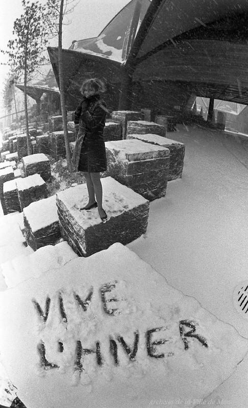 Vive l'hiver! à Terre-des-Hommes, 1968