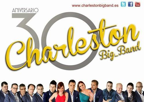 Charleston Big Band 2014 - orquesta - cartel