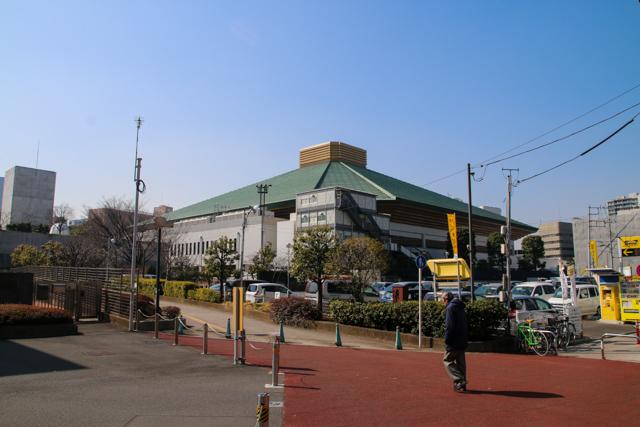Ryogoku Kokugikan Sumo Hall