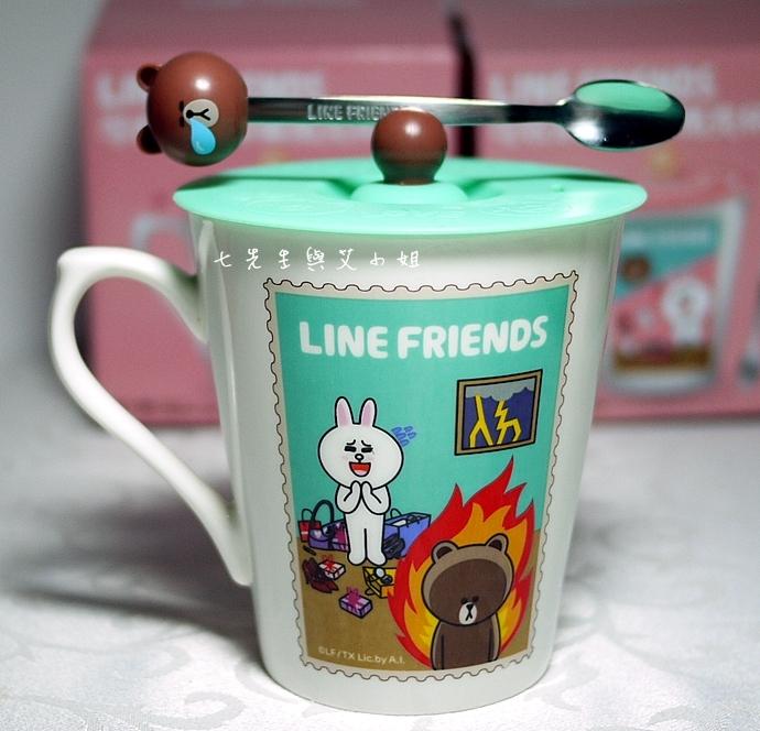 10 LINES FRIENDS 杯子