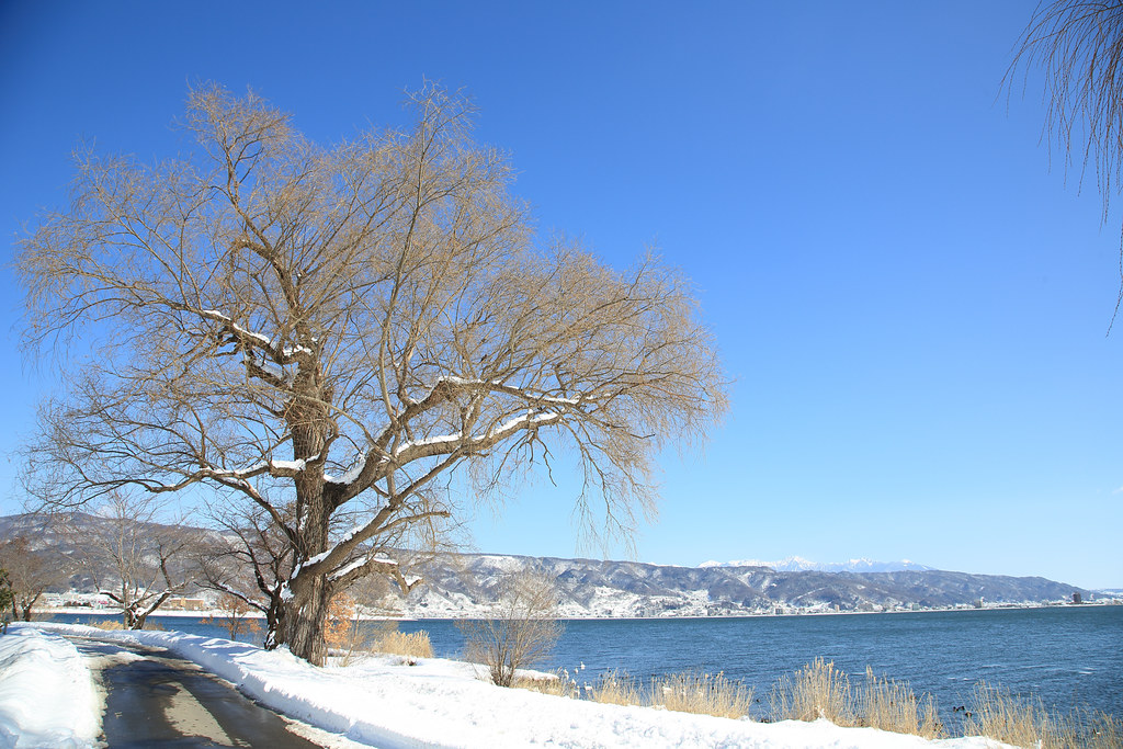 諏訪湖 Suwa Lake
