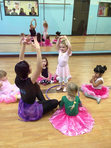 Eleanora ballet class January February 2014
