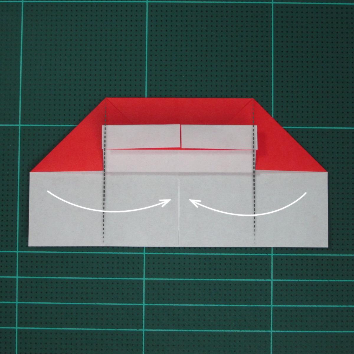 วิธีการพับกระดาษเป็นรูปเปียโน (Origami Piano) 010