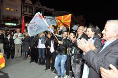 Кликни за фотогалерија - Митинг на ГРОМ во Охрид