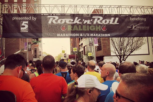 Rock n Roll Raleigh Marathon 1