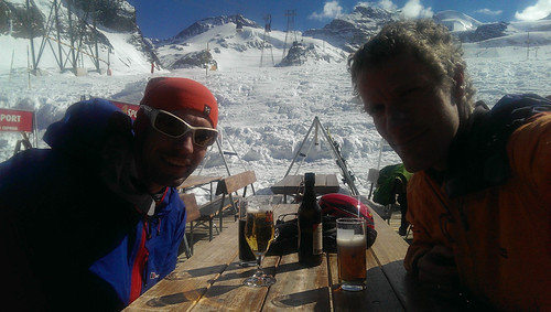 Beer debrief at 2500m