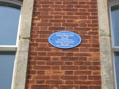Photo of Charles 'Bungy' Heal blue plaque