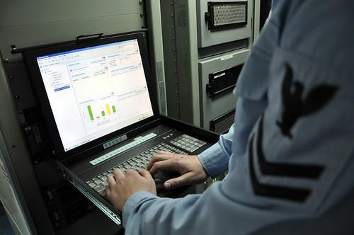 Navy Hacker
