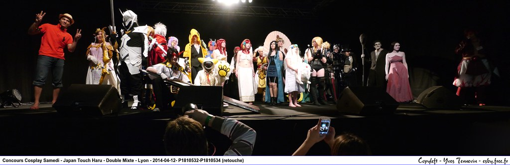 related image - Concours Cosplay Samedi - Japan Touch Haru - Double Mixte - Lyon - 2014-04-12- P1810532-P1810534