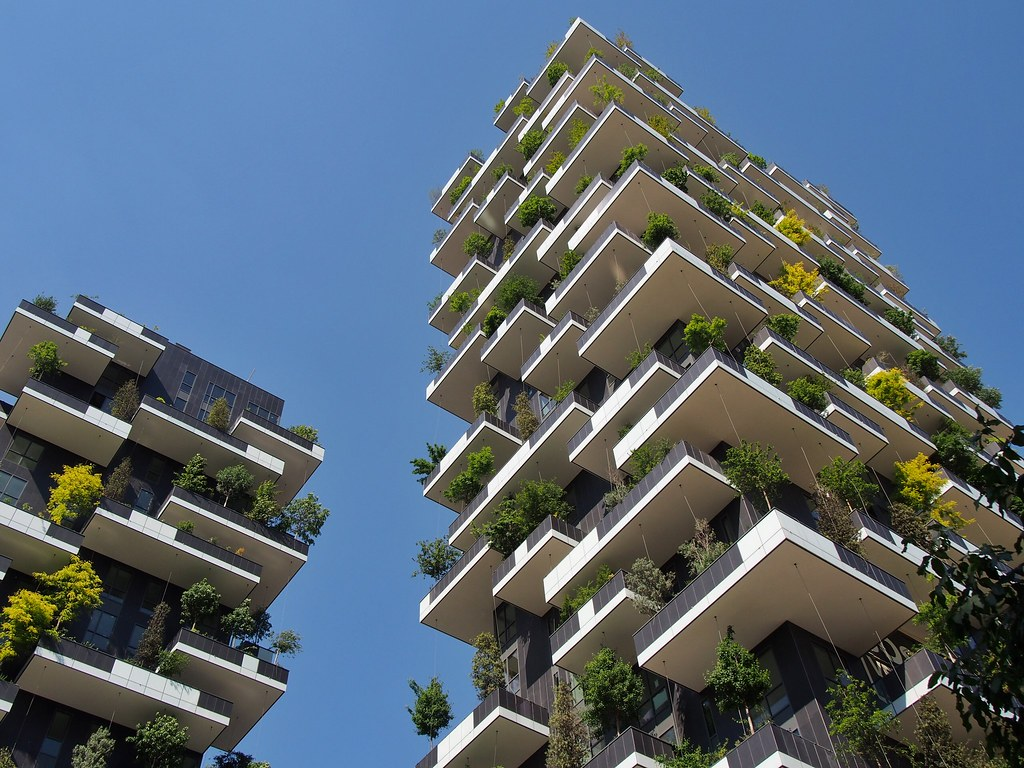 Bosco Verticale Towers Milan - World's First Vertical Forest [1024x768]
