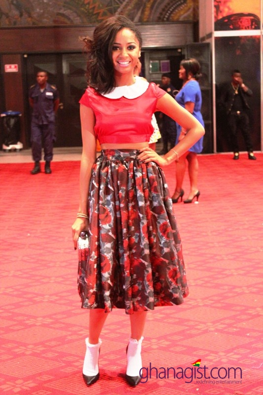 Sister Debbie at 2014 Ghana Music Awards