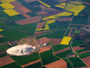 Aerial view of potash works near Hildesheim, Germany by Batikart