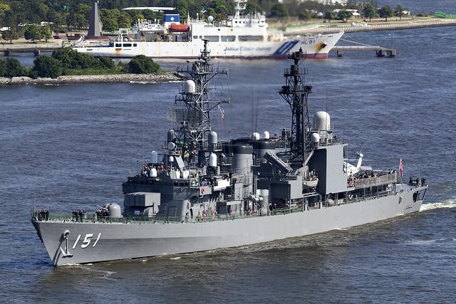 JMSDF DD-151 あさぎり
