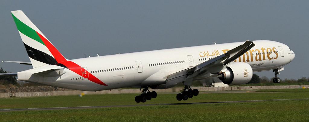 A6-ENG - B77W - Emirates