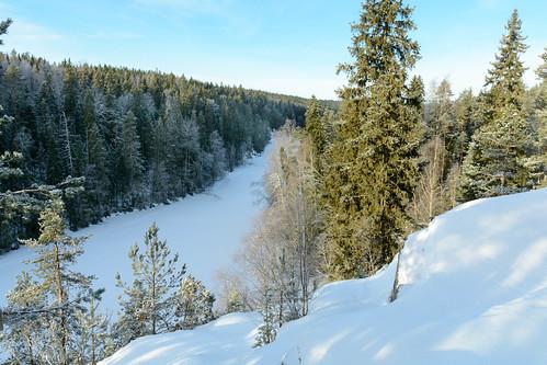 winter snow nature finland nationalpark nikon fi kansallispuisto ruovesi helvetinjärvi pirkanmaa d7100