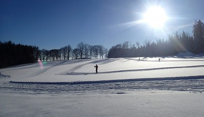 Běžecké lyžování jako zimní doplněk tréninku