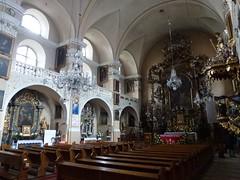 Wnętrze kościoła pocysterskiego św. Jana Chrzciciela w Cieplicach Śląskich-Zdrój