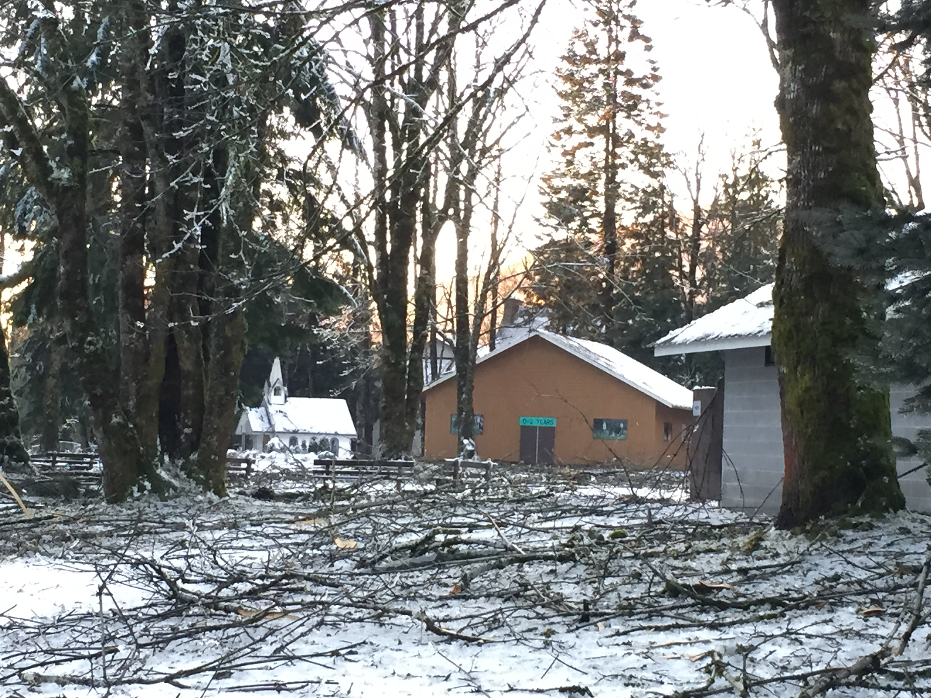 Camp Hope Ice Storm 2015