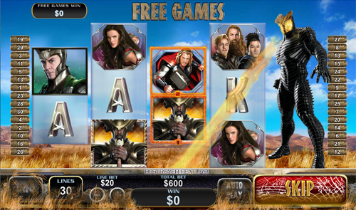 free Thor The Mighty Avenger Earth Free Games