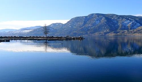 blue lake canada landscape britishcolumbia calm panasonic penticton skaha skahalake lx5 nigeldawson dmclx5 jasbond007 copyrightnigeldawson2015
