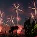 fireworks-bradenton, fl, manatee river by dfbphotos