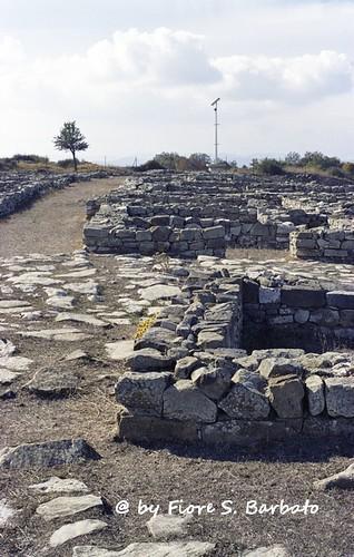 Vaglio Basilicata (PZ), 2001, Parco archeologico di Serra di Vaglio.