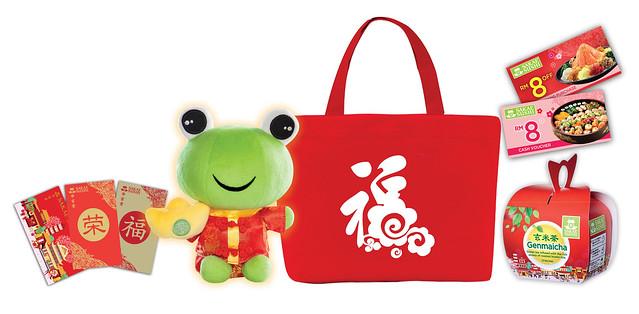 Sakae Sushi Lucky Bag