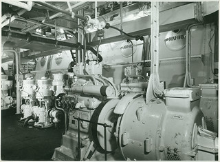 Engine room of 'St Essylt'