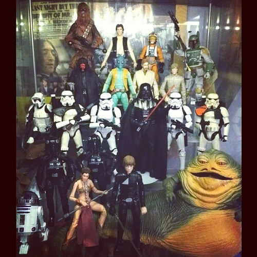 "Star Wars 6"" The Black Series display shelf... #geekshavethemostfun #actionfiguredisplay #starwars #starwarsmalaysia #theblackseries"