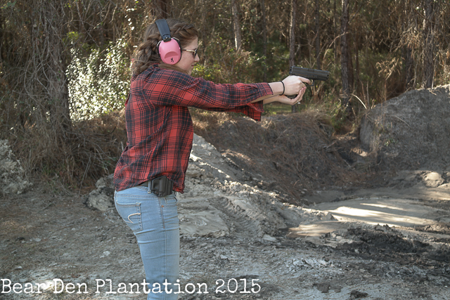 Shooting 9mm
