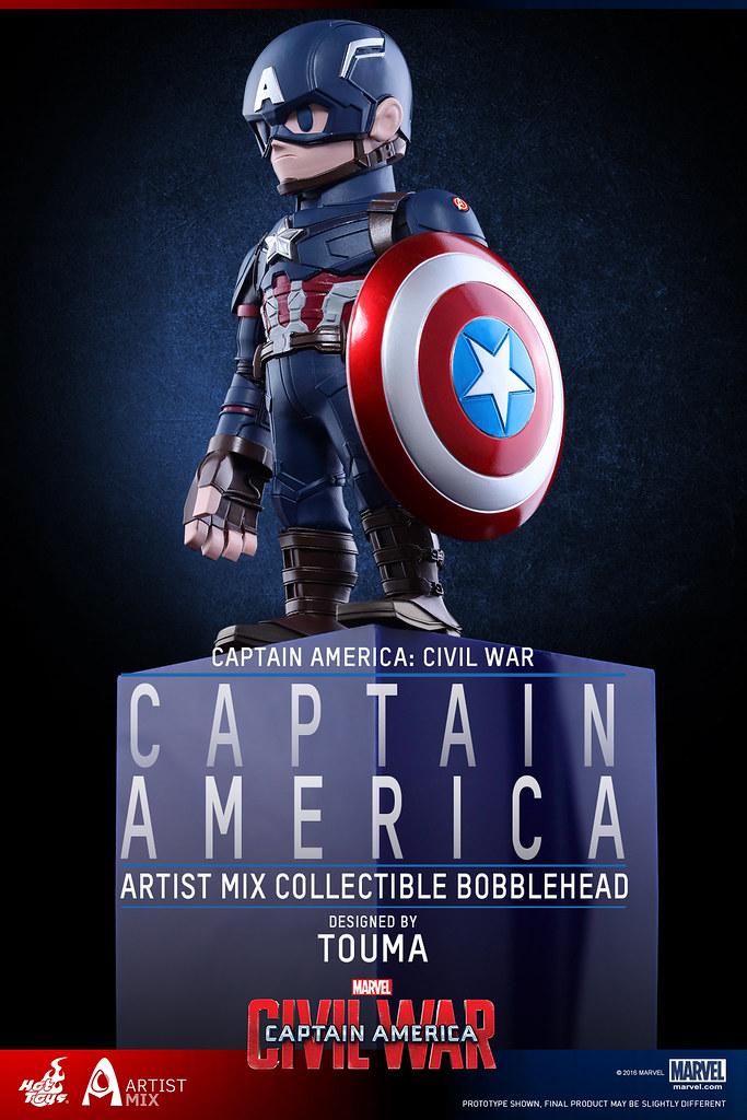 Hot Toys – AMC021 – 024 – 美國隊長3:英雄內戰【TOUMA 限定】設計師聯名系列