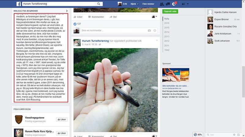 facebook hurum turistforening 2