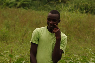 Vegetable farming can be so much fun...and profitable too. Says Hassan Saidi (Photo credit: AVRDC/Andreas Gramzow)