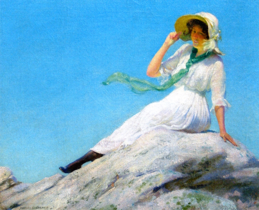 Sunny Morning by Charles Courtney Curran - 1916