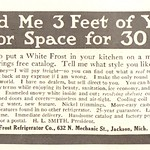 Wed, 2016-04-20 13:15 - 1915 White Frost Refrigerator Advertisement National Geographic June 1915