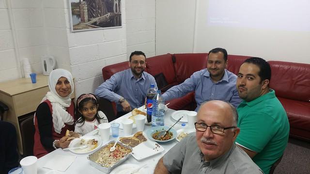 Volunteer appreciation Lunch 2 June 2016